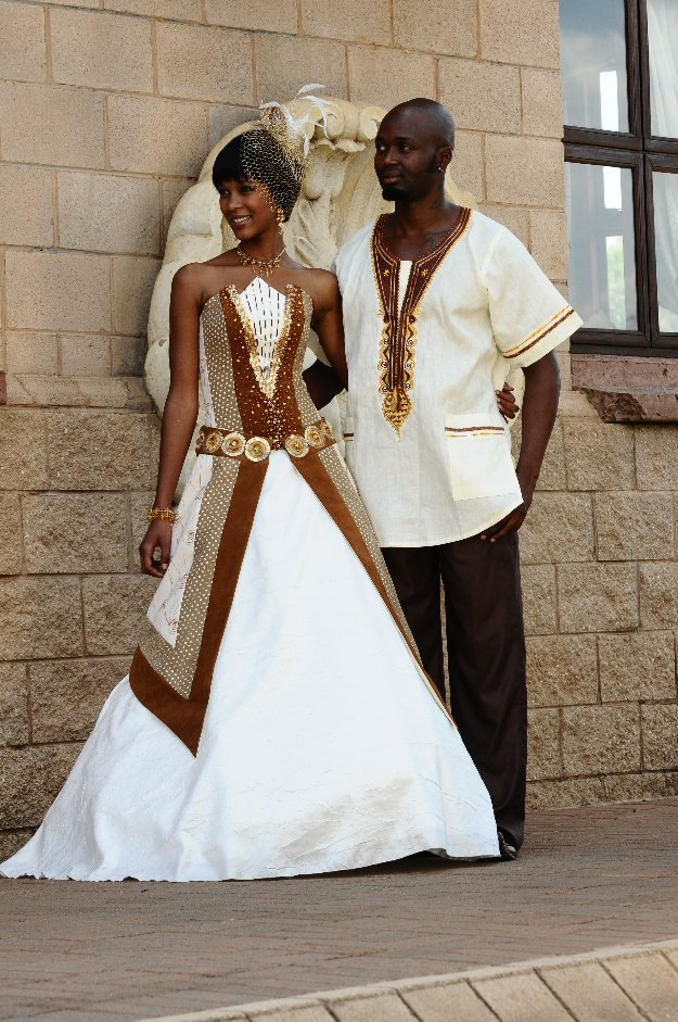 Ethnic Wedding Dresses Unique African Inspired Bridal Wear |African Wedding Dresses