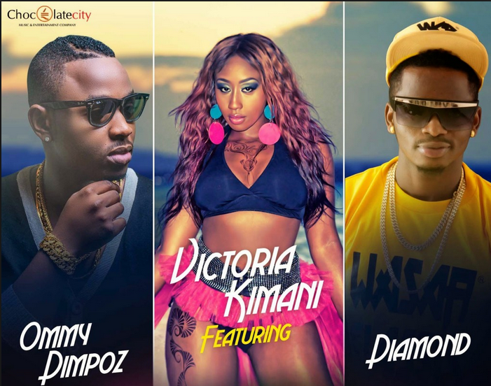 Victoria Kimani, Prokoto, Video, Diamond, Ommy Dimpoz